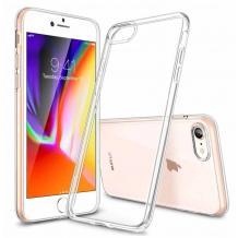 Луксозен силиконов калъф / гръб / TPU 2.0mm за Apple iPhone SE2 - прозрачен
