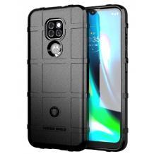 Удароустойчив калъф / гръб / Rugged Shield TPU Case за Motorola Moto G9 Play - черен