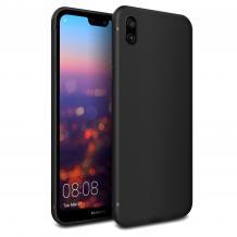 Луксозен силиконов калъф / гръб / Nano TPU за Xiaomi Redmi 7A - черен