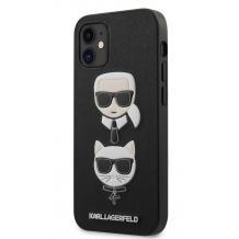 """Оригинален гръб Karl Lagerfeld за Apple iPhone 12 Pro Max 6.7"""" - K&C Heads"""