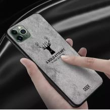 "Луксозен гръб Deer за Apple iPhone 11 Pro 5.8"" - сив"