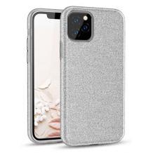 Силиконов калъф / гръб / TPU за Samsung Galaxy Note 20 Ultra - сребрист / брокат