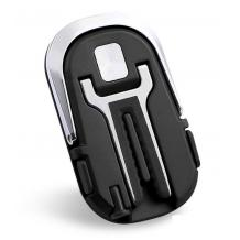 Универсална стойка за кола / Car Vent Holder въртяща се на 360 градуса - черна