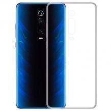 Силиконов калъф / гръб / TPU NORDIC Jelly Case за Xiaomi Mi 9T - прозрачен