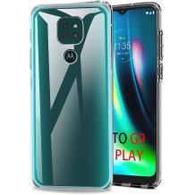 Силиконов калъф / гръб / TPU NORDIC Jelly Case за Motorola Moto E7 Plus - прозрачен