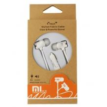 Оригинални стерео слушалки Xiaomi XS 85 / handsfree / 3.5mm - бели