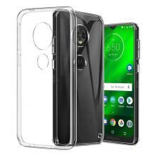 Силиконов калъф / гръб / TPU за Motorola Moto G7 Power - прозрачен