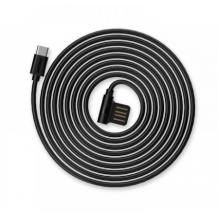 Оригинален USB кабел REMAX Rayen RC-075A USB Charging Data Cable / Type-C / 1.0м - черен