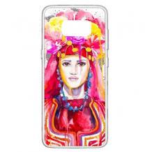Силиконов калъф / гръб / TPU за Samsung Galaxy S8 G950 - Мома в носия