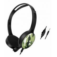 Геймърски слушалки GM-010 / Gaming Headset GM-010 - зелен камуфлаж