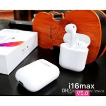 Безжични Bluetooth 5.0 слушалки i16 Max / In-ear - бели