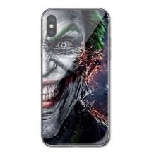 Луксозен стъклен твърд гръб за Apple iPhone 7 Plus / iPhone 8 Plus - Joker Face