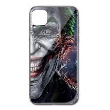 """Луксозен стъклен твърд гръб за Apple iPhone 11 Pro Max 6.5"""" - Joker Face"""