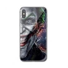 Луксозен стъклен твърд гръб за Apple iPhone XR - Joker Face
