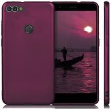 Силиконов калъф / гръб / TPU за Xiaomi Mi 8 Lite - лилав / мат