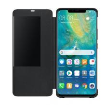 Луксозен калъф Smart View Cover за Samsung Galaxy A7 2018 A750F - черен