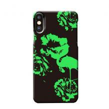 """Силиконов калъф / гръб / TPU LUXO за Apple iPhone 11 6.1"""" - черен / цветя"""