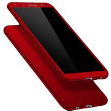 """Твърд гръб Magic Skin 360° FULL за Apple iPhone 11 Pro 5.8"""" - червен"""
