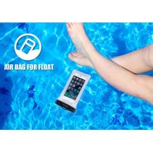 Универсален водоустойчив калъф Waterproof WK WT-Q01OR за мобилен телефон (L) - оранжев