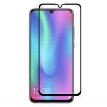 Удароустойчив протектор Full Cover / Nano Flexible Screen Protector с лепило по цялата повърхност за дисплей на Huawei P30 - черен