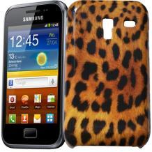 Оригинален капак за Samsung Galaxy Ace Plus S7500 - леопард