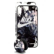Луксозен твърд гръб 3in1 със стъклен протектор и Popsocket за Apple iPhone 7 / iPhone 8 - прeливащ / 1
