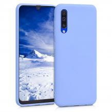 Луксозен силиконов калъф / гръб / Nano TPU за Xiaomi Redmi 7A - светло син