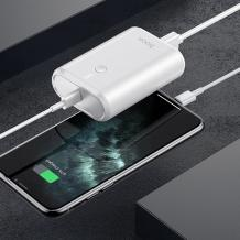 Универсална външна батерия HOCO Q3 Power Bank 10000mAh / Type-C / PD20W+USB QC3.0 / Universal HOCO Q3 Power Bank 10000mAh / Type-C - Бяла