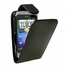 Кожен калъф HTC Wildfire S - FLIP