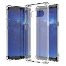 Удароустойчив силиконов калъф за Samsung Galaxy S10 - прозрачен