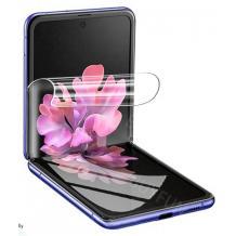 Удароустойчив скрийн протектор / FLEXIBLE Nano Screen Protector / за дисплей на Samsung Galaxy Z Flip