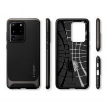 Оригинален гръб Spigen Neo Hybrid за Samsung Galaxy S20 Ultra - черен