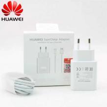 Оригинално зарядно / адаптер / Super Fast Charging 66W за Huawei / Type-C - бяло