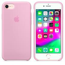 Оригинален гръб Silicone Cover за Apple iPhone 6 / iPhone 6S - розово
