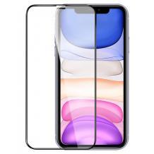 3D full cover Tempered glass Full Glue screen protector Apple iPhone 12 Mini 5.4'' / Извит стъклен скрийн протектор с лепило от вътрешната страна за Apple iPhone 12 Mini 5.4'' - черен