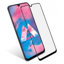 3D full cover Tempered glass screen protector Samsung Galaxy A50 / Извит стъклен скрийн протектор Samsung Galaxy A50 - черен