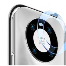 9D Camera Tempered Glass / Стъклен протектор за задна камера на Huawei Mate 40 Pro - прозрачен