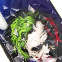 Луксозен твърд гръб 3D за Samsung Galaxy A40 - Joker / призма