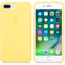 Оригинален гръб Silicone Case за Apple iPhone 7 / iPhone 8 - жълт