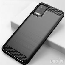 Силиконов калъф / гръб / TPU за LG K52 - черен / carbon