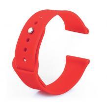 Силиконова каишка за Apple Watch 42 / 44мм - червена