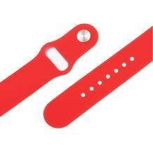 Силиконова каишка за Apple Watch 38мм, 40мм - червена