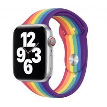 Силиконова каишка за Apple Watch 38мм, 40мм - дъга