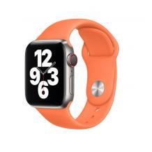 Силиконова каишка за Apple Watch 38мм, 40мм - цвят праскова