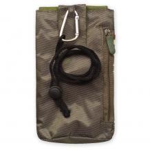 Универсален калъф / джоб / с връзка за врат - зелен камуфлаж