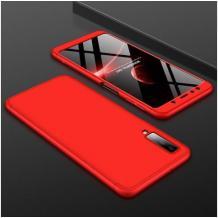 Твърд гръб Magic Skin 360° FULL за Samsung Galaxy Note 10 Plus / Note 10 Pro N976 - червен