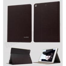 Луксозен кожен калъф KA Series Kalaideng със стойка за Apple iPAD 5 / iPad Air - черен