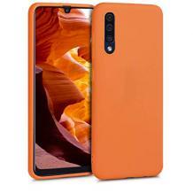 Луксозен силиконов калъф / гръб / Nano TPU за Xiaomi Redmi 7A - оранжев