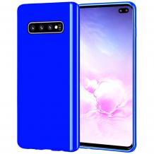 Силиконов калъф / гръб / TPU NORDIC Jelly Case за Samsung Galaxy S10 - син