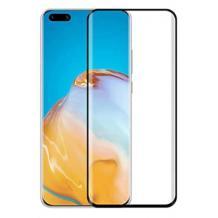 Оригинално извит удароустойчив скрийн протектор PET / 3D full cover Screen Protector за дисплей на Huawei P40 Pro